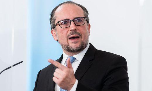 PRESSEFOYER NACH DEM MINISTERRAT: SCHALLENBERG