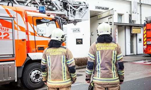 1200 Brandeinsätze absolvierten die Feuerwehrleute in Klagenfurt