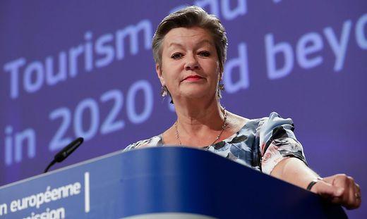 Innenkommissarin Ylva Johansson