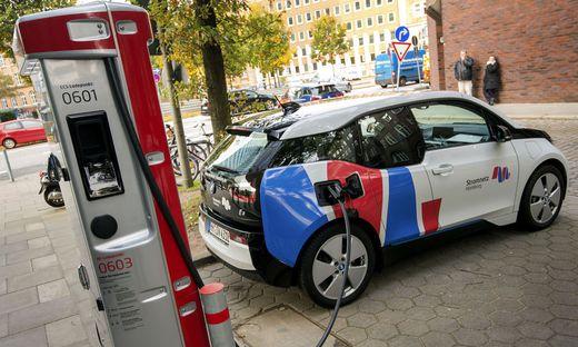 Elektroautos werden in Europa immer häufiger (Sujetbild)