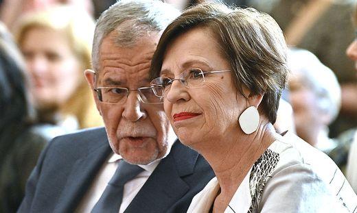 Alexander Van der Bellen und seine Frau Doris
