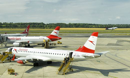 Austrian Airlines in Wien