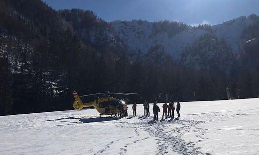 Der Verletzte wurde ins Klinikum geflogen