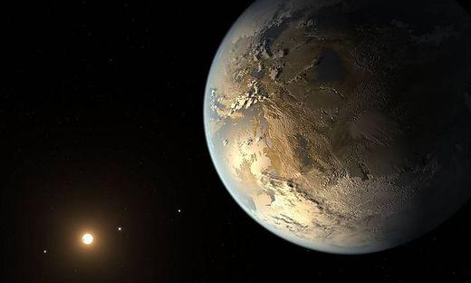 Kepler-186f war der erste felsige Exoplanet, der in einer bewohnbaren Zone gefunden wurde