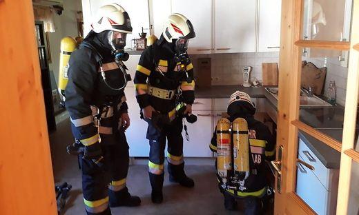 Die Feuerwehr konnte einen Vollbrand noch rechtzeitig verhindern.
