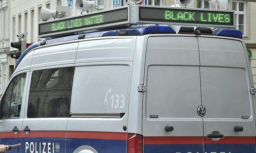 Auch die Wiener Polizei bezog klar Stellung