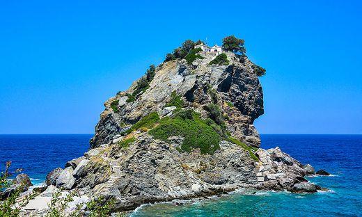 Die Insel Skopelos besticht mit sehenswerter Natur.