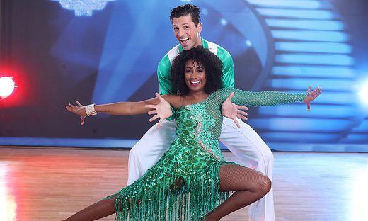 Ana Milva Gomes mit Tanzpartner Thomas Kraml