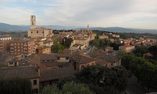 Das Stadtbild Perugias wird maßgeblich von den zahlreichen imposanten Geschlechtertürmen geprägt