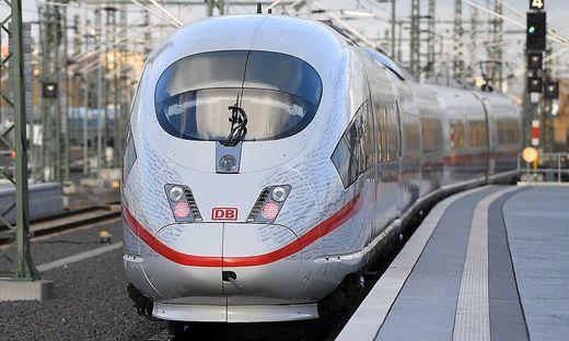 Der Zug war unterwegs in die Schweiz