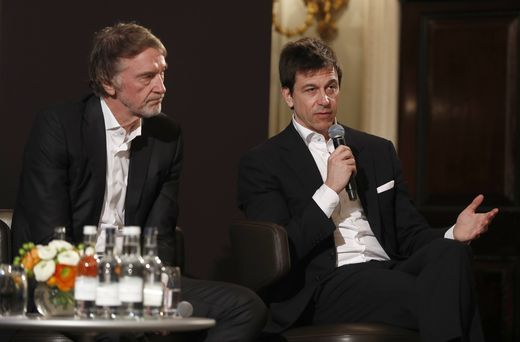 2020 Mercedes F1 Announcement THE ROYAL AUTOMOBILE CLUB, UNITED KINGDOM - FEBRUARY 10: Sir Jim Ratcliffe chairman and c