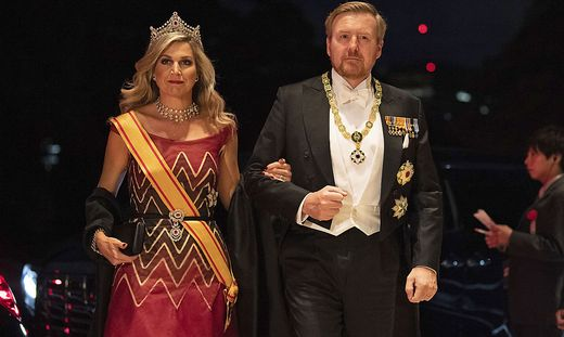 Machten während der Pandemie keine königliche Figur: Willem-Alexander und Máxima