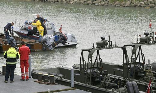 Pionierboot-Unfall auf der Donau bei Hainburg