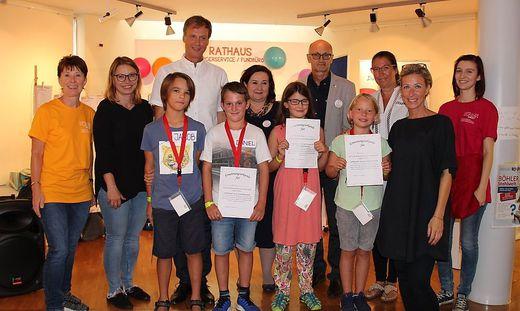 Am Montag wählten die Kinder in Freitopia bereits ihre politischen Vertreter