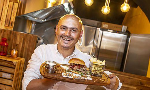 Beisl szene Klagenfurt Burger-Boutique Bahnhofstrasze Klagenfurt Juni 2019