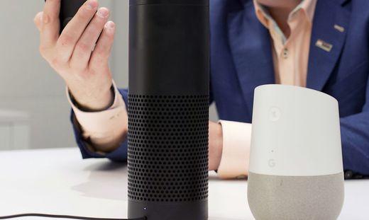 Amazon und Google sind Rivalen am Smarthome-Markt
