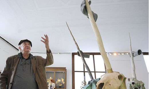 DANIEL SPOERRI IM NATURHISTORISCHEN MUSEUM