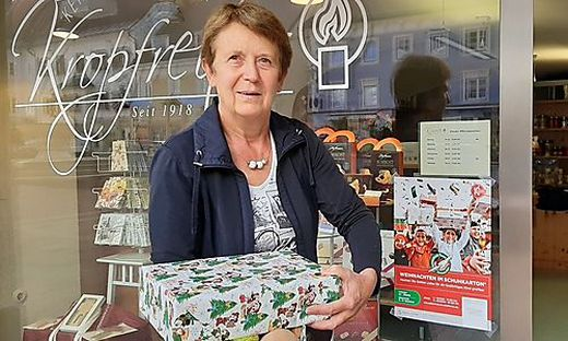 Ingeborg Kropfreiter ist schon seit sechs Jahren bei der  Spenden-Aktion dabei