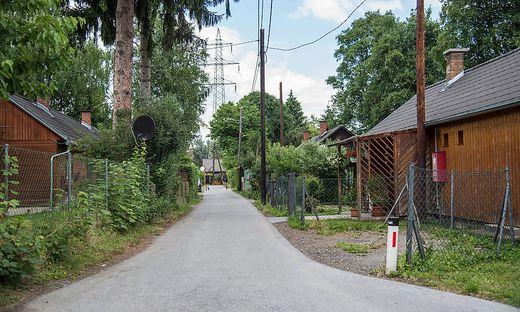 Holzhaus-Siedlung Grünanger Baracken