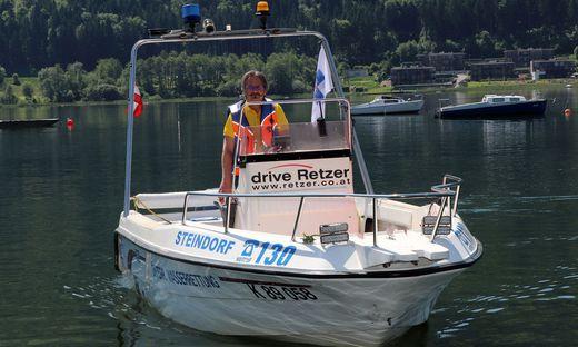 Proprentner ist ausgebildeter Bootsführer