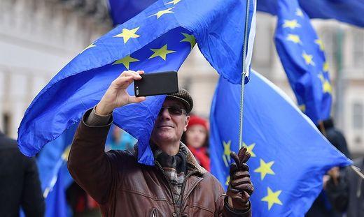 In Österreich halten nur 46 Prozent der Befragten die EU-Mitgliedschaft für eine gute Sache