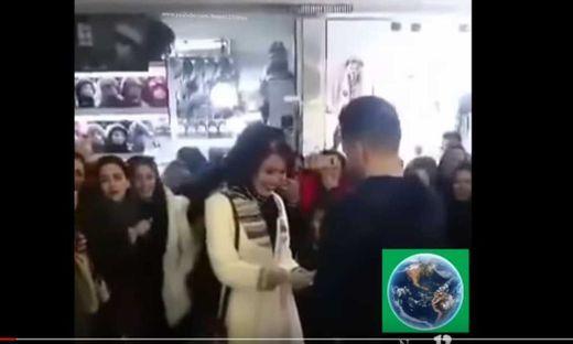 Iranisches Paar nach Heiratsantrag in der Öffentlichkeit festgenommen
