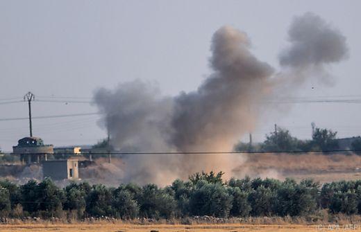 Nordsyrien: Türkisches Militär setzte Bodenoffensive fort