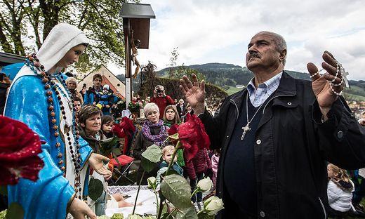 Seher Salvatore Caputa Marienerscheinung Bad St. Leonhard April 2014