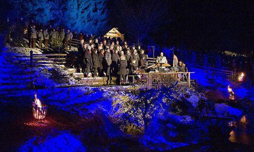 164 Akteure sind beim heurigen Adventsingen in Apfelberg dabei