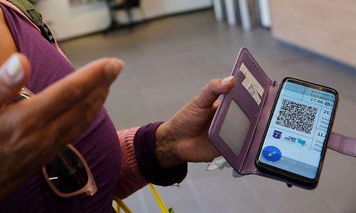 """In Israel ist eine entsprechende """"Grüner Pass""""-App bereits in Verwendung"""