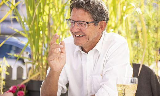 Siegfried Huber im Sommergespräch