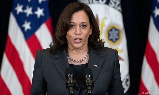 US-Vizepräsidentin Harris gab den Ausschlag