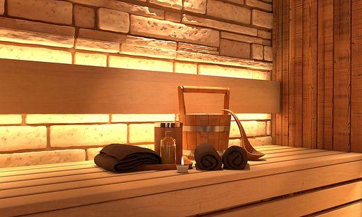 bad kleinkirchheim in der sauna wurde es zu hei. Black Bedroom Furniture Sets. Home Design Ideas