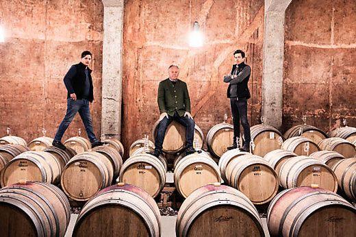 Stefan, Manfred und Armin Tement (von links)