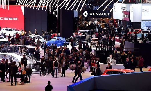 Der Autosalon in Paris