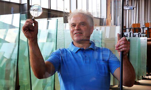 """""""Glas Laggner"""" gibt es seit 111 Jahren in Feldkirchen, 1987 übernahm Martin Laggner die Geschäfte"""
