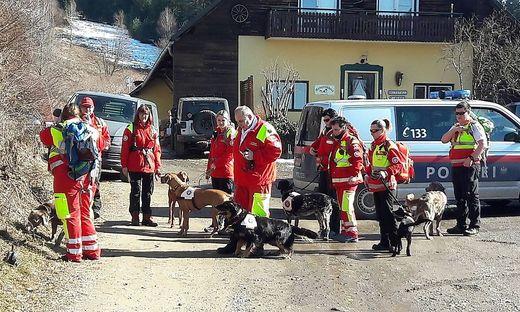 Die Rettungshundestaffel des Samariterbundes startete drei inoffizielle Suchaktionen nach der Vermissten
