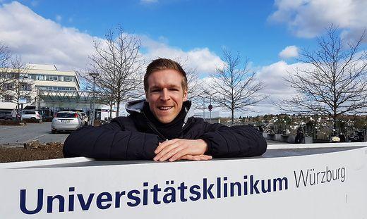 Philipp Kahr ist in Würzburg sehr zufrieden