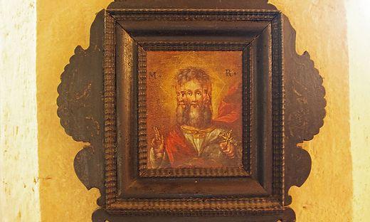 Dieses außergewöhnliche Bild ist in der Ulrichskirche in Oberaich zu finden