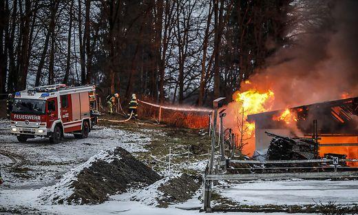 Brand Saegewerk Seebach Viktring Jaenner 2018