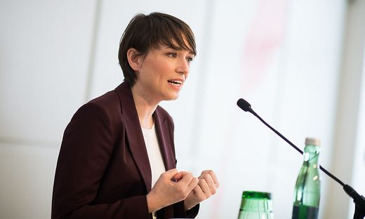 Grünen-Klubchefin Sigrid Maurer