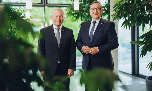 Christian Purrer und Martin Graf