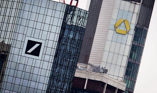 """Die Büros der Commerzbank in Frankfurt werden laut """"Handelsblatt"""" durchsucht"""