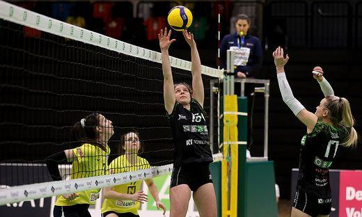VOLLEYBALL - AVCW, Graz vs Sokol/Post