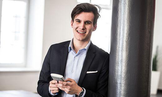Harald Semmelrock (18) konnte schon als Schüler mit Informatik-Studenten gut mithalten
