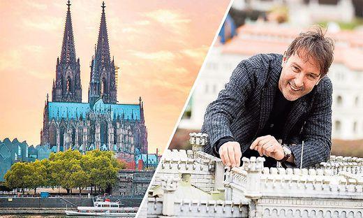 Hannes Guggenberger meint, dass der Nachbau des Doms mehrere Jahre dauern würde