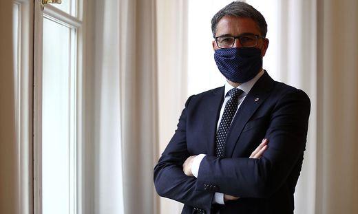 Der Südtiroler Landeshauptmann Arno Kompatscher