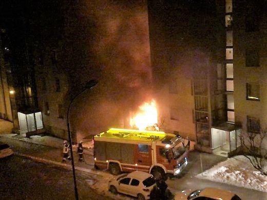 Feuerwehreinsatz eisenerz