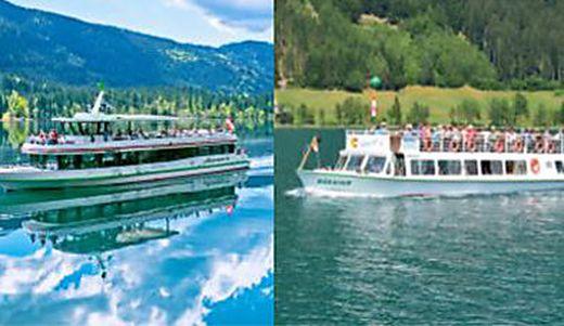 Die MS Alpenperle und die MS Kärnten sind Aushängeschilder der Weißensee-Schifffahrt