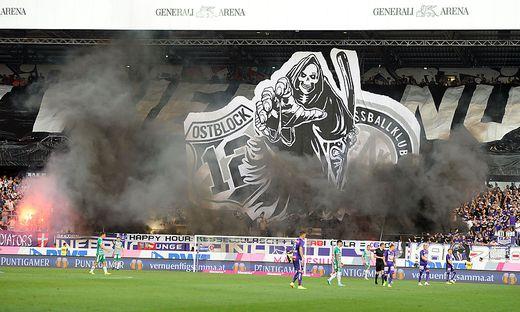 FK Austria Wien vs. SK Rapid Wien Choreo